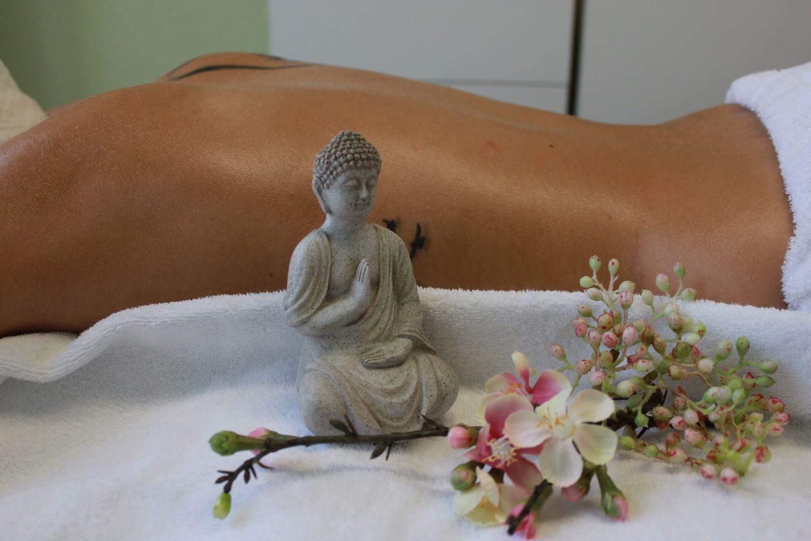 Impression einer asiatischen Massage